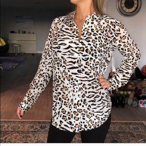 Nwt 100% silk equipment blouse